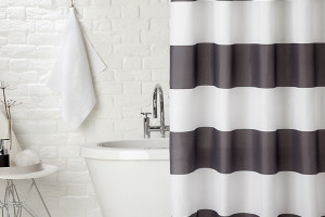 john lewis stripe shower curtain