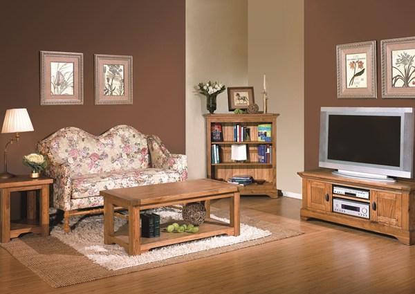 toulouse antique oak tv unit