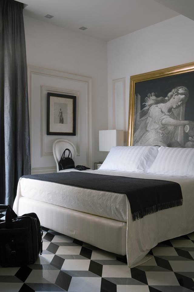 bedroom design by pietro del vaglio