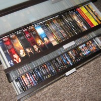 Clearing out Your Old Dvd's For More Space in Your House