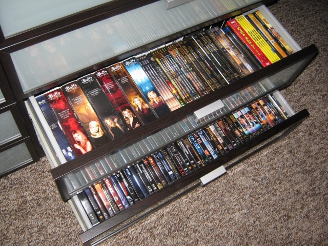 cd dvd racks