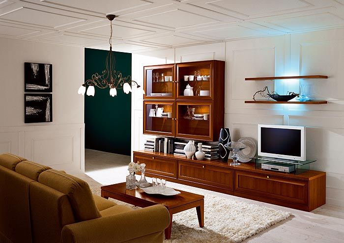 wall art ideas with pictures - Donatello Living Room Design StyleHomes