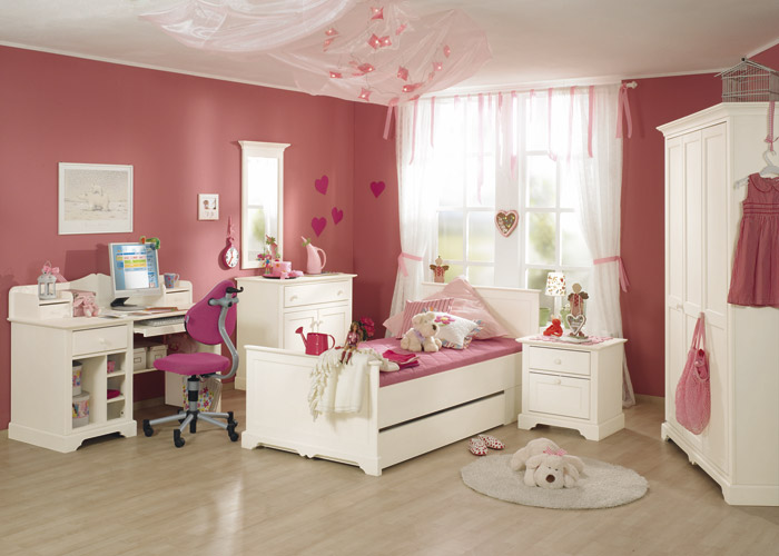 Youngster S Girl S Room Sylvie With Case Furniture