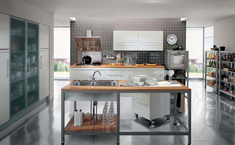 Modern Class Cromatica Simple Kitchen Interior